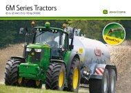 6M Series Tractors - Farming