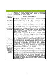 Eixo Prioritário I – Competitividade, Inovação e ... - O Novo Norte