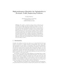 High-performance Heuristics for Optimization in Stochastic Traffic ...