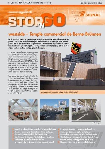 westside – Temple commercial de Berne-Brünnen - Signal AG
