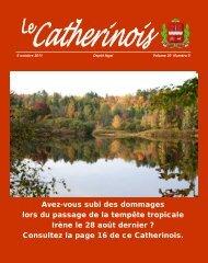 Octobre 2011 - Ville de Sainte-Catherine-de-la-Jacques-Cartier