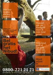 Bekijk de flyer - Nibud