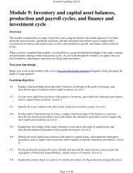 Module 9 course notes - PD Net Tax Portal
