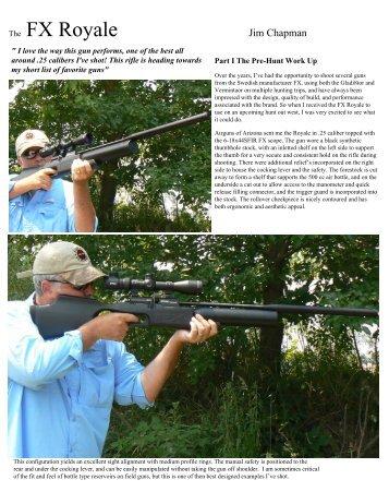 The FX Royale - Airguns of Arizona