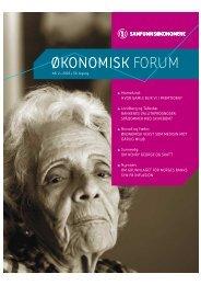 Oko.forum nr 2-05 - Samfunnsøkonomene