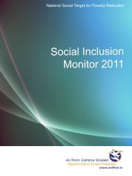 Social Inclusion Monitor 2011 (PDF) - Office for Social Inclusion