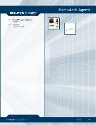 Hemostatic Agents - REALITY Publishing Company
