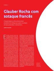 Glauber Rocha com sotaque francês Glauber Rocha com sotaque ...