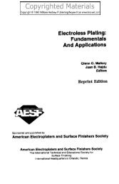 Electroless Plating : Fundamentals And Applications