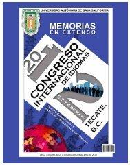 Memorias Congreso - Facultad de Idiomas Ensenada - Universidad ...