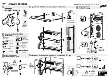 INSTALLATION INSTRUCTIONS DEHNpatch DPA M ... - EuroVolt