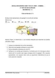 Ficha de revisão nº 2