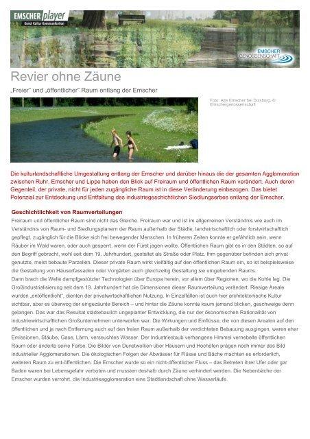 Revier ohne Zäune - Christoph Zöpel