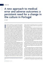 A new approach to medical error and adverse outcomes: a ...