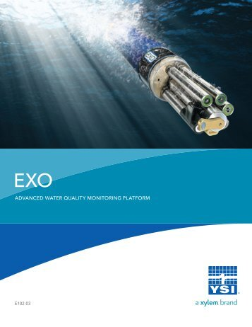EXO Advanced Water Quality Monitoring Platform - YSI.com