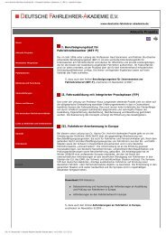 www.deutsche-fahrlehrer-akademie.de -> Deutsche Fahrlehrer ...