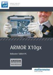 Datenblatt ARMOR X10gx - Mettenmeier GmbH