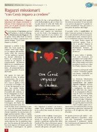 Apri le pagine sulla GMR 2013 - Webdiocesi