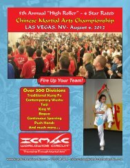 Chinese Martial Arts Championship - International Chinese Martial ...