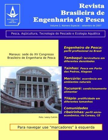Edição Especial - Engenharia de Pesca - Uema