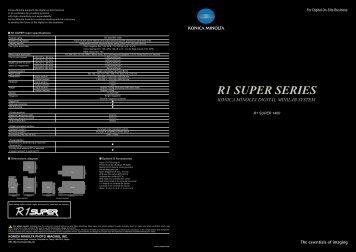 R1 SUPER SERIES - Serrano Rey