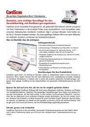 Card Scan für cobra - Fluctus IT GmbH