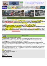 TPP-Domenech - Empresas Autobuses Líneas