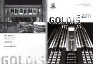 Goldis Berhad Annual Report 2011
