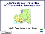 Nye kartkodar i SOSI v/ Kathrine Falch, Statens kartverk