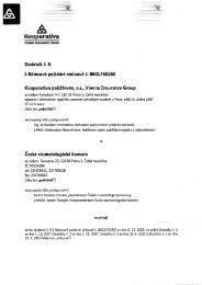 PDF, 1074 kB - Kooperativa, pojišťovna, a.s.