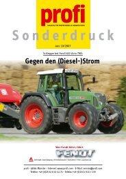 Gegen den (Diesel-)Strom - AGCO GmbH