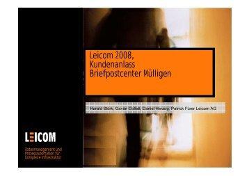Leicom_Doku_Homepage - Leicom AG