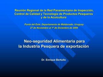 URUGUAY_BERTULLO_Bioseguridad Industria Pesquera