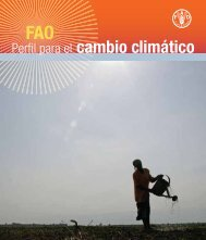 Perfil para el cambio climático - FAO.org