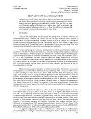 ASAC 2002 Jonathon Batten Winnipeg, Manitoba Deakin University ...