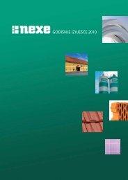 godišnje izvješće 2010 - Nexe Grupa