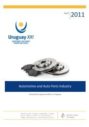 Automotive and Auto Parts Industry - Uruguay XXI