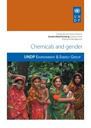 Chemicals and gender - Gender Climate