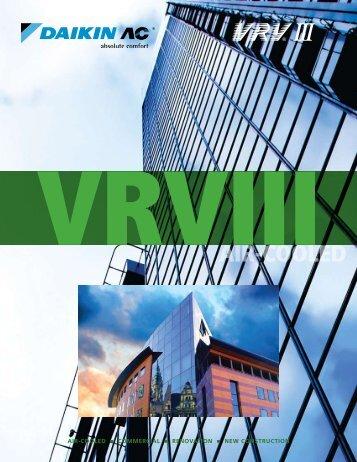 VRVIII - Brochure - PCVUSE11-02B - Daikin AC.pdf - Climatec