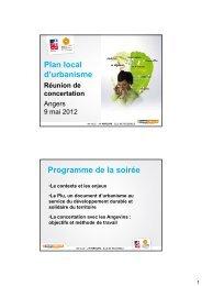 presentation plu angers 9 mai.pdf - Angers Loire Métropole