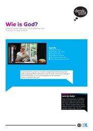 Wie is God? - Evangelische Omroep