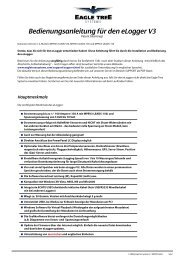 Bedienungsanleitung für den eLogger V3 - Emcotec