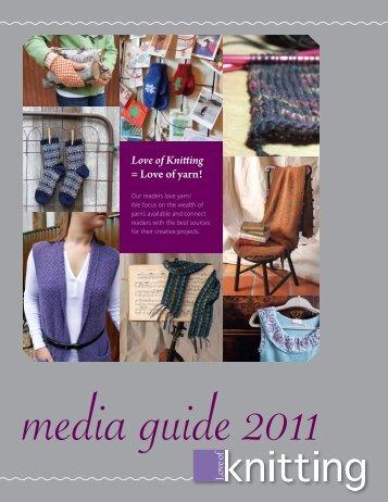 Love of Knitting = Love of yarn!