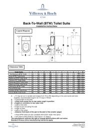 Back-To-Wall (BTW) Toilet Suite - Argent Australia