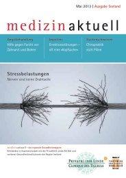 Gesundheitsmagazin Mai 2013 / PDF, 1.87 MB - Klinik Linde