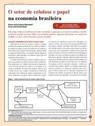 O setor de celulose e papel na economia brasileira - Revista O Papel