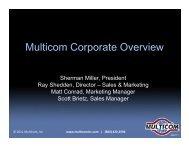 Multicom Corporate Overview 062111