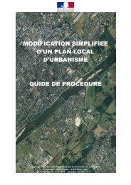 modification simplifiee d'un plan local d'urbanisme ... - Webissimo