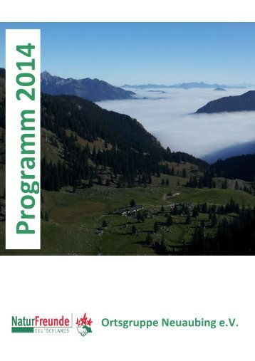 Programm - Naturfreunde Deutschlands, Ortsgruppe Neuaubing e. V.