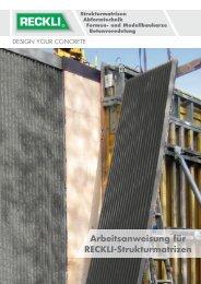 Arbeitsanweisung - RECKLI GmbH: Home